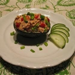 Seafood – Avocado And Tuna Tapas